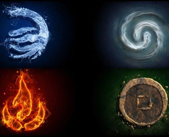 Los signos del zodiaco agua tierra fuego aire